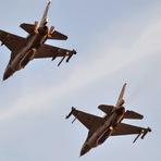 Internacional - A Força Aérea israelense atacou alvos militares na Síria