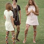A moda hippie em fotografias da década de 1960