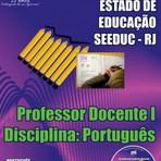 Apostila PROFESSOR DOCENTE I - Concurso SEEDUC / RJ 2015