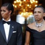 Internacional - Michelle Obama causa ao não usar véu na Arábia Saudita!
