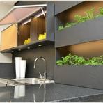 Arquitetura e decoração - Casa e jardim cozinhas planejadas em foco.