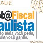 CONSULTA NOTA FISCAL PAULISTA 2015