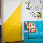 Arquitetura e decoração - A sua porta não precisa ser branca! - Decoração
