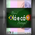 Série documentários - Lá e Cá - Brasil e Portugal 12 DVDs