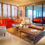 Arquitetura e decoração - Edifício de alto luxo oferece garagens dentro dos apartamentos