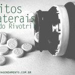 EFEITOS COLATERAIS DO RIVOTRIL