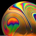 Surreais Macro Fotos de Bolhas de Sabão
