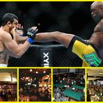 UFC veja 5 bares para poder assistir as lutas
