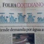 Foto resume o absurdo da crise da água em São Paulo