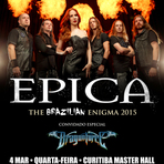 Música - Epica – The South American Tour abertura Dragonforce (Curitiba)