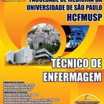 Apostila Digital Concurso HCFMUSP 2015 Hospital das Clínicas de São Paulo- Oficial Administrativo, Técnico de Enfermagem