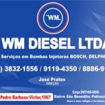 A WM Diesel Ltda é um parceiro do Guia OlhouLigou
