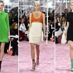 Vestidos com bota toma conta  da Semana de Alta-Costura em Paris