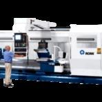 CNC ROMI produtividade para fabricação e repasse de peças pesadas