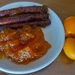 Culinária - Doce de abóbora c/ kumquat!