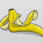 Cascas de bananas.