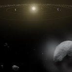 Confirmada a existência de água em mais um planeta do Sistema Solar.