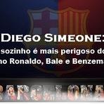 Simeone: Fez um grande elogio a Leo Messi