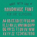 Tipografias retrô nos bancos de imagem