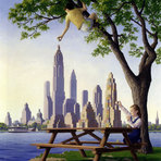 As alucinantes pinturas surrealistas de Rob Gonsalves