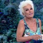 Ana Maria Braga volta platinada ao Mais Você