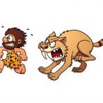 O tigre-de-dente-de-sabres
