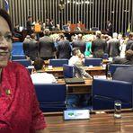 Fátima toma é a primeira senadora de origem popular do RN
