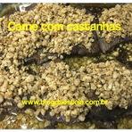 Blog da Estela: Carne com castanhas