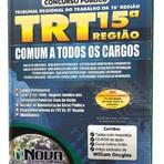 Apostila Concurso TRT-SP 15ª Região Campinas 2015