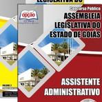 APOSTILA ASSEMBLEIA LEGISLATIVA GO ASSISTENTE ADMINISTRATIVO 2015