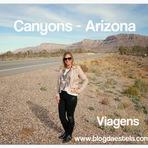 Blog da Estela: Caminho dos Canyons - Arizona - EUA