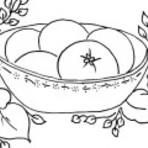 Pintura - Desenhos para pano de prato