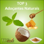 Top 3 - Adoçantes Naturais