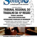 Apostila Concurso TRT-15ª Região - Técnico Judiciário - Especialidade: Tecnologi