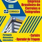 Apostila PREPARATÓRIA CORREIOS 2015 - Atendente Comercial, Carteiro e Operador de Triagem e Transbordo