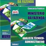 Apostila Concurso Ministério da Fazenda ANALISTA TÉCNICO 2015