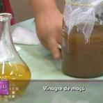 Receita de vinagre de maçã caseiro