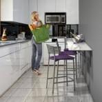 Mesas pequenas e dobraveis para cozinha