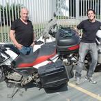 Pai e filho viajam juntos por 16 mil km por 5 países da América do Sul