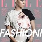 """Katy Perry é Capa da Revista """"Elle Magazine"""" Edição de Fevereiro de 2015"""
