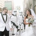 Casamento inspirado em Star Wars