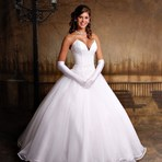 Modelos de vestidos de noiva tomara que caia