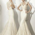 Belissimos vestidos de noiva de renda