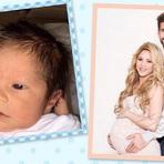 Shakira Divulga Primeira Foto do Seu Bebê