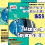 Apostila Concurso INSS 2015, cargo Técnico do Seguro Social