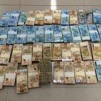 """Dinheiro - dinheiro e relógios em fundo falso em empresa ,"""" PF apreendeu"""""""