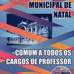 Apostila Todos os Cargos de Professor Concurso 2015 Natal-RN