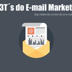 Os 3T´s do E-mail Marketing.