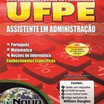 Apostila Concurso UFPE 2015 - Assistente em Administração