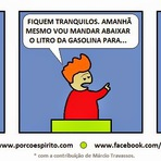 A gasolina da Dilma.